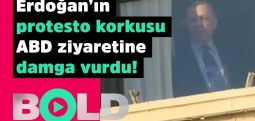 Erdoğan'ın pencereden yansıyan korkusu