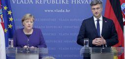 Merkel: Çelje sa më të shpejtë të negociatave me Maqedoninë e Veriut dhe Shqipërinë