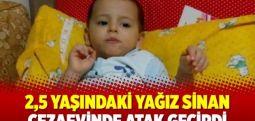 2,5 yaşındaki Yağız Sinan cezaevinde atak geçirdi