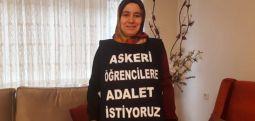 Melek Çetinkaya: Evde oturarak adalet beklemeyin!