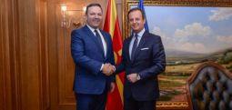 Kryeministri i qeverisë teknike Spasovski takon ambasadorin italian Romeo