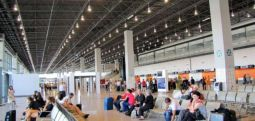 Masa  mbrojtëse në Aeroportin e Shkupit, për shkak të virusit kinez