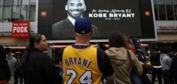Fansat e LA Lakers mblidhen në nderim të Bryantit