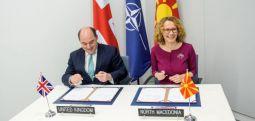 Shekerinska: Nënshkruhet marrëveshja e re për bashkëpunim në mbrojtje me Mbretërinë e Bashkuar
