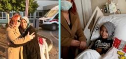Kampanya sonuç verdi: Ahmet tedaviye annesiyle gidecek