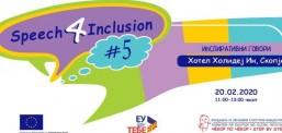 """Arsim: """"SPEECH4INCLUSION"""" për arsim inkluziv"""