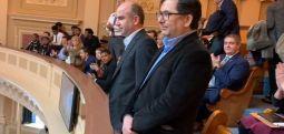 Abdülhamit Bilici ve Adem Yavuz Arslan, Virginia Meclisi'nde ayakta alkışlandı