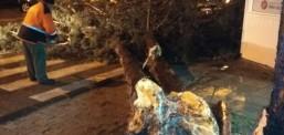 Shkup, era e fuqishme shkakton dëme materiale