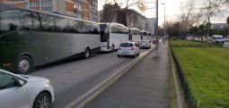 Sınırlar açıldı, mülteciler otobüslerle, polis araçlarıyla taşınıyor