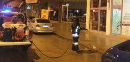 Arifi: Dezinfektimi i tërësishëm i rrugës së butiqeve në Tetovë si dhe bulevardi i Ilindenit