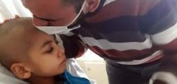 Ahmet babasıyla 5 saatliğine buluşabildi