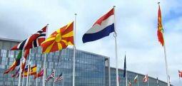Flamuri i Maqedonisë së Veriut ngritet para selisë së NATO-s në Bruksel