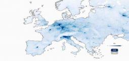 Bllokimi për shkak të koronavirusit e pastroi ajrin në Evropë