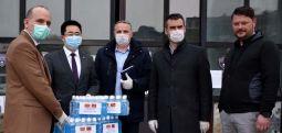 Донација од кинеската полиција за вработените во МВР