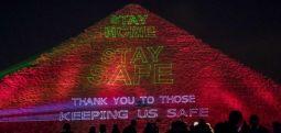 Mesazhi me drita në piramidat e Egjiptit: Rrini në shtëpi
