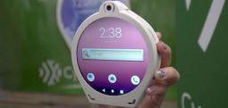 Најавен првиот кружен паметен телефон