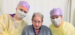 101 yaşında ve iyileşti