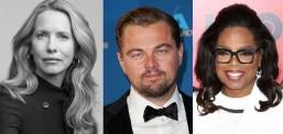 DiCaprio, Oprah Winfrey ve Laurene Jobs'tan 12 milyon dolarlık yardım fonu