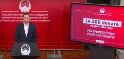 Kaevski: Nga Buxheti do të paguhen nga 14.500 denarë për muajin prill dhe maj për sportistët dhe për punonjësit sportiv