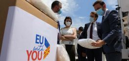 EU donates final batch of ventilators as part of COVID-19 response efforts