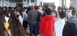 """Në shkollën e mjekësisë """"Pançe Karaxhozov"""" filloi testi kualifikues"""