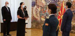 President Pendarovski receives credentials of new German Ambassador Holstein