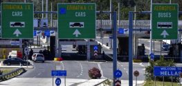 Greece to enforce new entry protocol at Evzoni border crossing starting Aug. 17