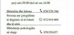MSH: Në Spitalin psikiatrik 4 mijë biseda telefonike për mbështetje psikologjike të qytetarëve