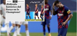 Mediat spanjolle 'gozhdojnë' Barcelonën pas humbjes ndaj Bayern Munich ku pranuan tetë gola: Turpërim historik