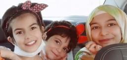 Nihayet yüzleri güldü: Üç kız cezaevindeki annelerine kavuştu