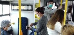 Regjistrohen 593 shkelje për mos-mbajtje të maskës mbrojtëse