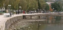 Алармантно ниско ниво на Охридското езеро