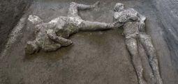 Pomeii'de, bir köle ve sahibine ait 2000 yıllık kalıntılar bulundu