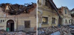 Страшниот земјотерес во Хрватска разори цели градови, расте бројот на жртви