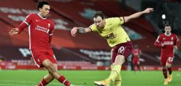 Late Burnley penalty ends Liverpool's three-year unbeaten Anfield run