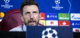 Cagliari coach Di Francesco dimissed after loss in strugglers clash