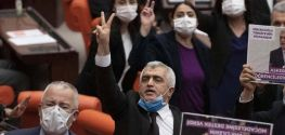 Turkish police detain expelled rights advocate MP, says son