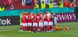 Milyonlarca futbolsever dua etti: Kalk Eriksen kalk