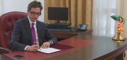 Пендаровски го потпиша Указот за Законот за стратешки инвеститор за изградба на автопатишта