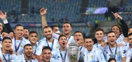 Messi lifts a weight off his shoulders with Copa America glory