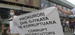 Tragjedia në spitalin modular, protesta në Tetovë