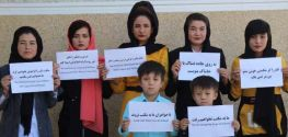 Afghan women return to the streets to demand their human rights