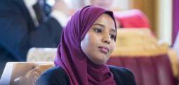 Somali asıllı Hussein Norveç tarihinin ilk başörtülü milletvekili oldu