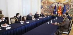 Pendarovski në takim me Sendi: Hungaria dhe Maqedonia e Veriut kanë bashkëpunim të mirë ushtarak