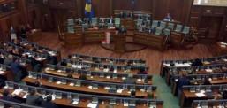Албин Курти и Рамуш Харадинај се скараа во косовскиот Парламент