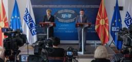 Osmani-Shmid: Maqedonia e Veriut si kryesuese me OSBE-në në vitin 2023 demonstron proaktivitet serioz në skenën ndërkombëtare